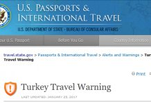 US State Department issues another travel warning for Turkey – Turkish Minute
