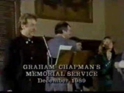 Graham Chapman's funeral – YouTube
