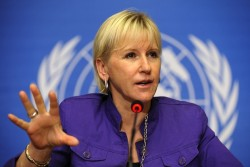 Sweden's feminist foreign minister has dared to tell the truth about Saudi Arabia. What happens  ...