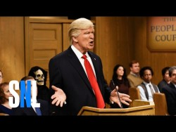 Trump People's Court – SNL – YouTube