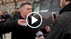 Watch: Tommy Robinson Rips Liberal Reporter At Scene Of London Attack – MILO NEWS