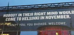 An ad near Helsinki airport  :D