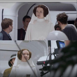 Rogue one, Princess Leia