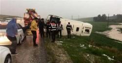 Bus on way to President Erdoğan's rally topples, 3 killed – LOCAL