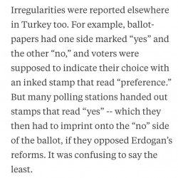 Turkish style democracy