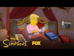 Donald Trump's First 100 Days In Office | Season 28 | THE SIMPSONS – YouTube