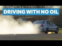 How Long Will My £200 Mercedes Run With No Oil? – YouTube