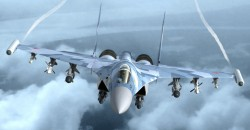 Fully loaded SU35 – Flanker