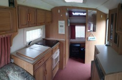 Brian starting to look quite homey now, had a lovely 4 days glamping, am a caravan convert for s ...