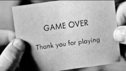 Game over, thank you for playing