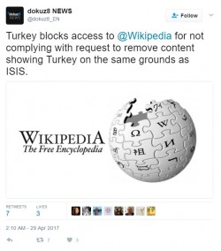 Turkey showing massive ignorance to the way the world works yet again, just doesn't unders ...