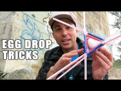 1st place Egg Drop project ideas- using SCIENCE – YouTube