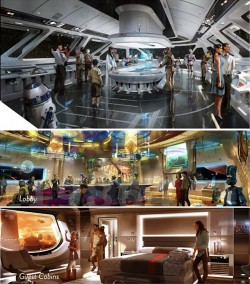 "Disney Creating Star Wars ""Starship"" Luxury Resort & Experience Attached to Disney's Hollywo ..."
