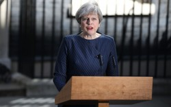 Theresa May announces last election