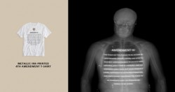 Underclothes That Display The 4th Amendment When X-Rayed By TSA