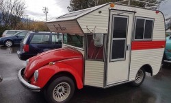 Volkswagen Beetle Camper Transforms Beloved Car into a Bug Camper