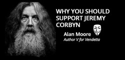 Why V for Vendatta author Alan Moore says you should support Jeremy Corbyn