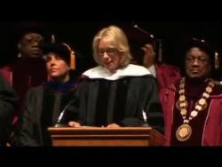 Besty Devos booed at university (entire speech) – YouTube