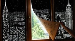 'Blackout' blinds turn windows into beautiful city skylines | Dangerous Minds