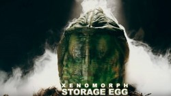 Creepy Looking Motion-Activated ALIEN Storage Egg | FizX