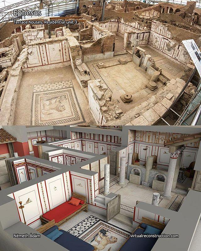 Ephesus roman villas