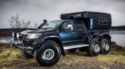 Hilux AT44 6×6 Arctic Truck | HiConsumption