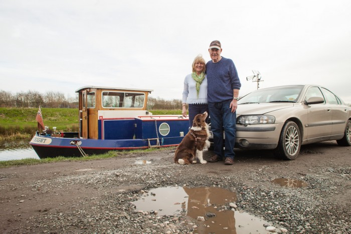 How a canal boat cruiser solved his car insurance problems