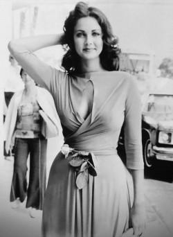 Lynda Carter, my boyhood crush and the original wonder woman, in the seventies.