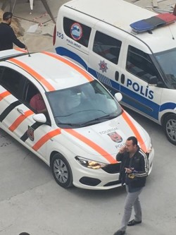 "Turkeys new ""Tourism Police"" presumably to illegally detain and arrest the few touri ..."