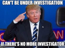 Employees fired by Trump:  Sally Yates Preet Bharara James Comey  Employees investigating Trump: ...