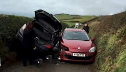 None shall pass – Driving in Cornwall.