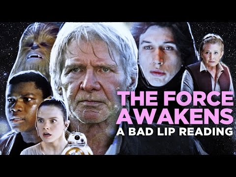 """THE FORCE AWAKENS: A Bad Lip Reading"" (Featuring Mark Hamill as Han Solo) – YouTube"