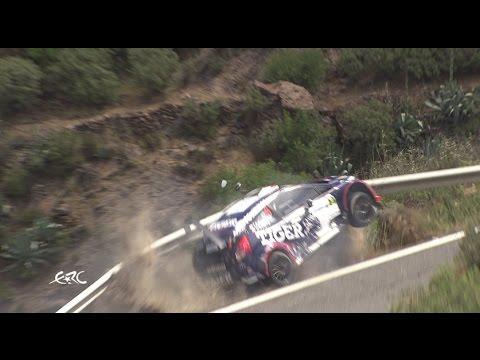 Rally Islas Canarias 2017 –  CRASH TOMASZ KASPERCZYK – YouTube