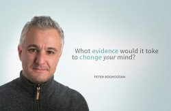 """One the most important questions you can ask someone says peter boghossian """"What Would it  ..."""