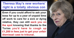 Theresa May's new workers' right is an unworkable con