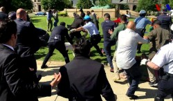 Turkey's Secret Service Protesters Attack in Washington DC | National Review