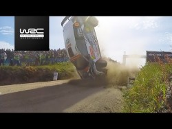 WRC 2 – Vodafone Rally de Portugal 2017: CRASH Quentin Gilbert – YouTube