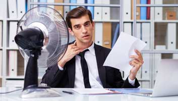Brexit wanker invokes EU guidelines over office temperatures