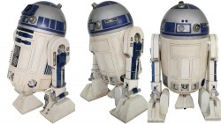 Check Out Million Dollar Complete R2-D2 Made With Actual STAR WARS Parts | FizX