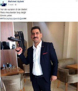 """Court releases AKP member who """"awaits orders from Erdoğan to kill"""" 