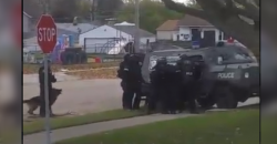 Graphic Video Shows SWAT Team Kill a Small Dog as it Walked Away From Them