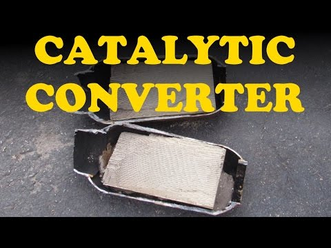 How a Catalytic Converter Works – YouTube