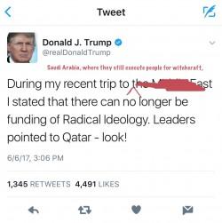 "Imran Garda on Twitter: ""I fixed it for you @realDonaldTrump"