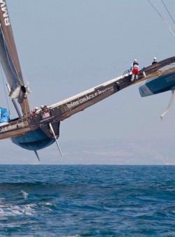 Sailing or flying? Its a fine line now