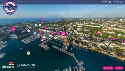 Check this cool interactive map of the fun and games in Falmouth this weekend. There's the ...