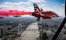 The amazing Red Arrows