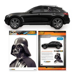 Star Wars Darth Vader Passenger Series Car Decal – Fanwraps – Star Wars – Car  ...