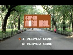 Super Mario Bros Recreated as Life Size Augmented Reality Game – YouTube