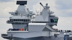 UK's largest warship has a big cybersecurity vulnerability: Windows XP