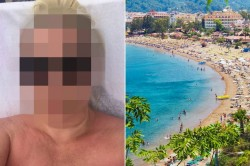 Brit mum-of-4 desperately fought off sex beast as she was stripped and dragged along road during ...
